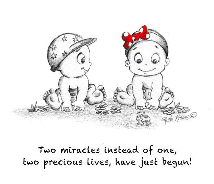 "Illustration ""Twins"""