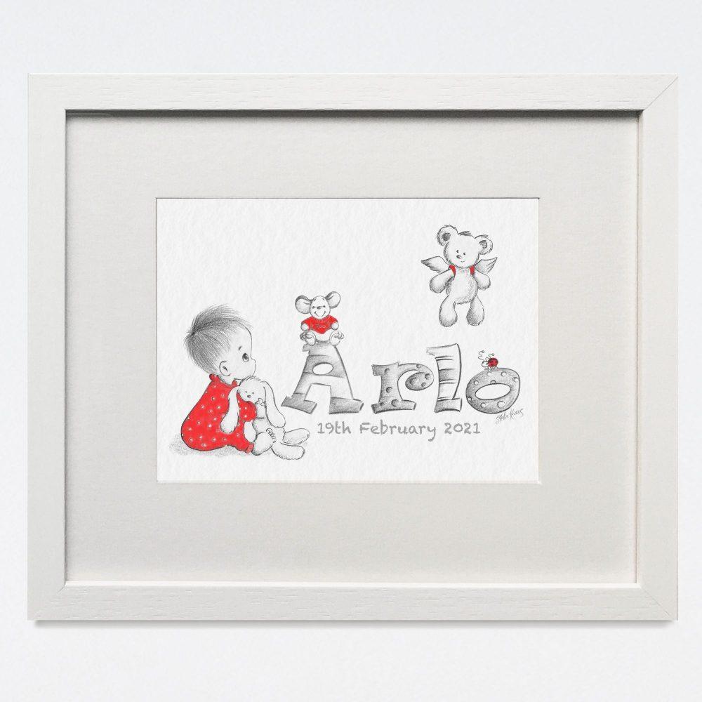 BABY NAME-WALL ART